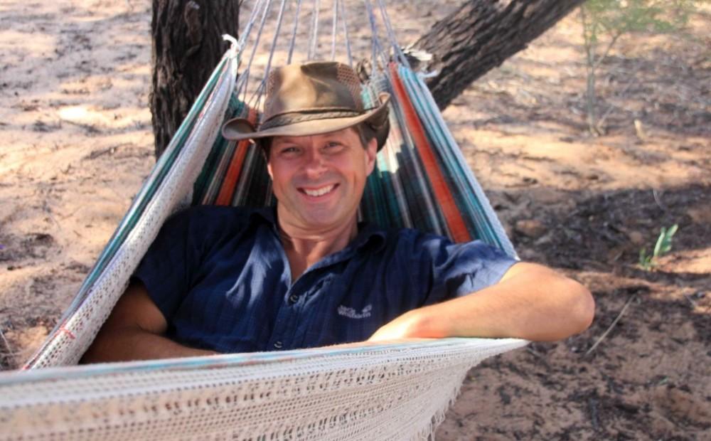 relax in de hangmat Botswana