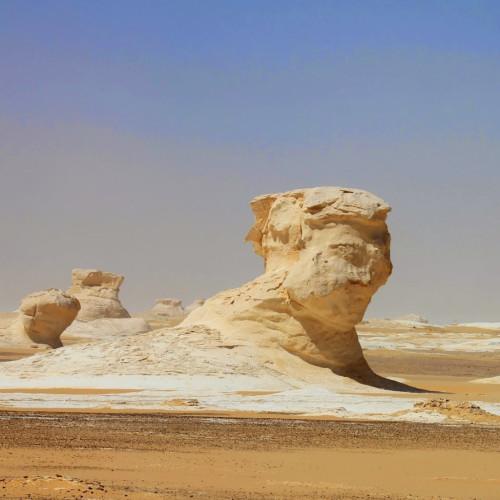 Bahariya Whithe Desert Egypt