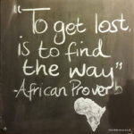 to get lost